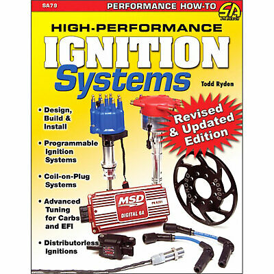 SA Designs SA79 Book High-Performance Ignition Systems, 144 Pages, Has Pictures.