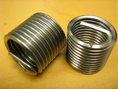 M14 x 1.25 Spark Plug Helicoil Replacement inserts Pkt of 10