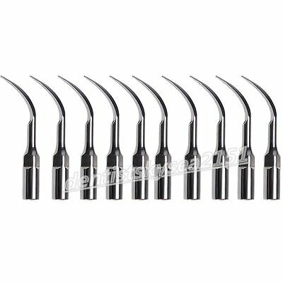 10X Dental Ultrasonic Piezo Scaler Tips Perio PD1 fit DTE Satelec détartreur