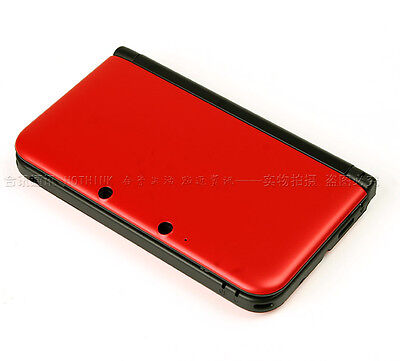 New Nintendo 3Ds Xl Full Replacement Case Housing Shell Red Uk Seller 3Ds Xl