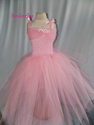Princess Dress Birthday Pageants Girls bridesmaids flower girls dress