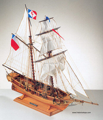 Beautiful Top Quality Corel Wooden Model Ship Kit The