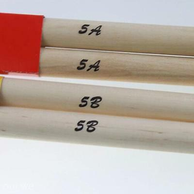 1Pair Musical Instrument Percussion Tool Maple Wood 5A/5B Drum Sticks Drumsticks