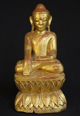 Antique Wooden Buddha Statue from Burma | Antique Buddha Statue for sale
