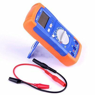 Digital A6013L LCD Display Manual Capacitance Capacitor Meter Tester Multimeter