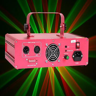 310mW RGB luce laser 9CH Fase Lampada Effect DMX/Sound Active/AUTO/Master-Slave