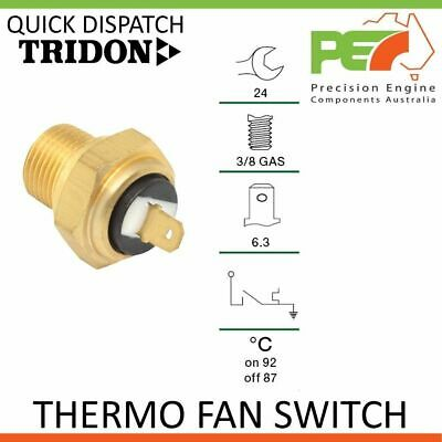 Genuine * TRIDON * Universal Thermo Fan Switch - 92C ON   87C OFF, 3/8 GAS