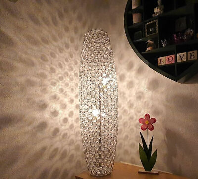 Floor Lamp Moroccan Style Cutwork Jeweled Brand New