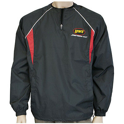 Lew's® Lews Black and Red Long Sleeve Windshirt Small