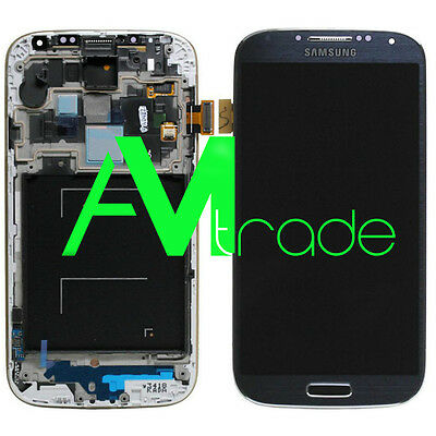 LCD + DISPLAY COMPLETO TOUCH ORIGINALE SAMSUNG GALAXY S4 GT-I9505 BLACK MIST