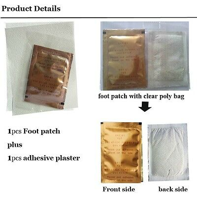 100+4 (52pcs Chinese Herbs Ginseng Detox Foot Patch + 52pcs Adhesive Plasters)