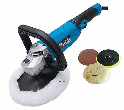 Heavy Duty Silverline 180Mm 1200W Car Polisher & Sander Polishing Machine Buffer