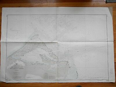Large Map St George Island Narrows Caribbean St David Nautical Chart