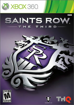 Saints Row: The Third III 3rd Xbox 360 Complete Very Good&Complete