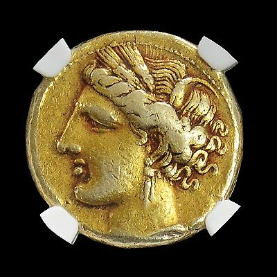 Aphrodite- Ancient Zeugitana, Carthage Electrum Stater