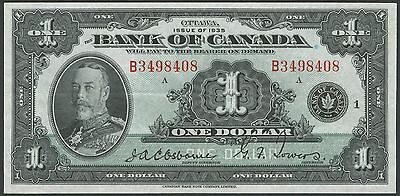 Canada Bc-1 $1.00 1935 English -- Choice Au  -- Osborne / Towers Hv8576