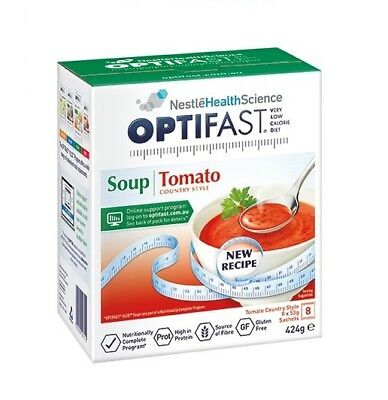 Optifast Vlcd Soup Tomato 8 X 48G