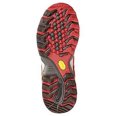 Kathmandu Arrowsmith Mens Trail Hiking Running Sports Shoes with Vibram Sole Red