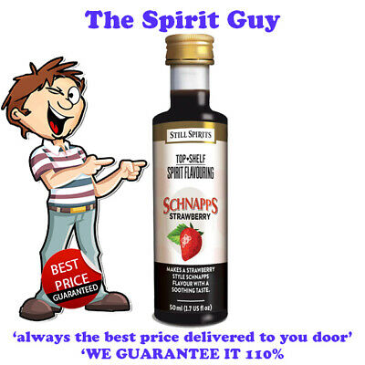 STRAWBERRY SCHNAPPS LIQUEUR ESSENCE @ $6.49 each BY STILL SPIRITS - 35123
