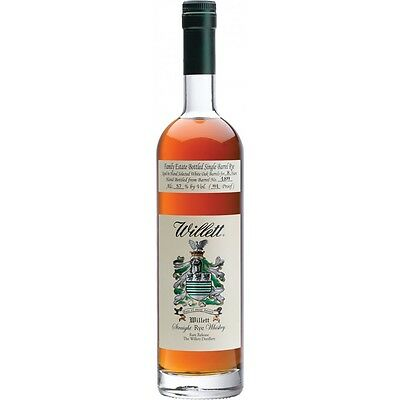 Willett Single Barrel 8yo Family Estate Straight Rye Whiskey Family Estate 750ml