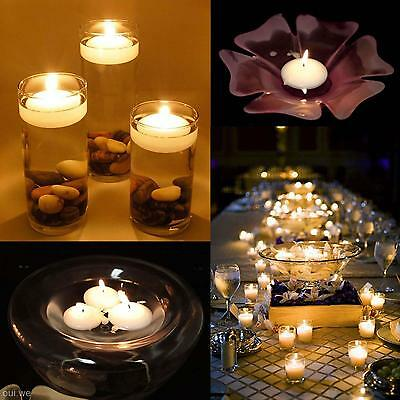 Romantic Floating Water Candle Multi Colors For Decor Wedding Bridal Party Home