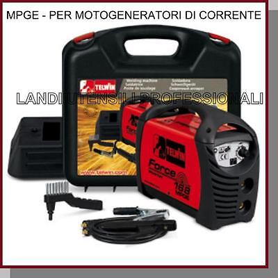 Saldatrice Inverter Telwin Force 168 Mpge  X Motogeneratori +Accessori 150A  Dc