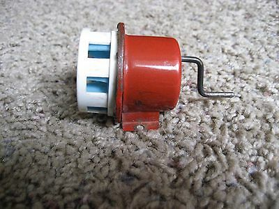 Vintage Pressed Steel and Plastic, Fire Truck Siren - Works