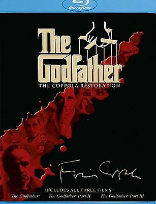 The Godfather Collection(The Coppola Restoration) Blu Ray Disc Set SEALED!