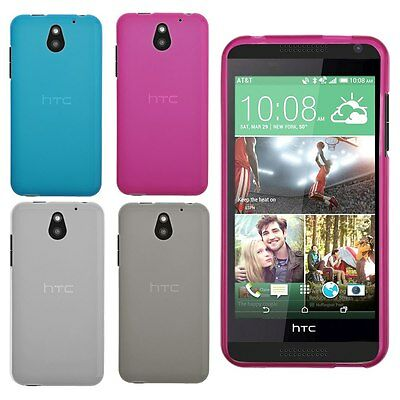 For HTC Desire 610 Frosted Matte Soft Flexable TPU GEL Case Cover Skin