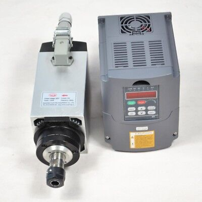 Top 3Kw Er20  Air-Cooled Spindle Motor & 3Kw Inverter Drive Vfd Four Bearing