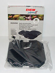 EHEIM 2628260 PROFESSIONAL 2 & EXPERIENCE 350 Carbon Foam Pads x3