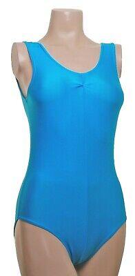Velvet Leotard Sleeveless Gathered Bust matching Lycra ANGELA DUO