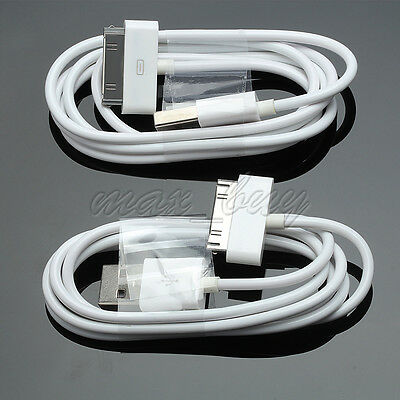 20 X USB  Data Charging Charger Cable Cord for iPhone 4 4S ipod 4G 4th