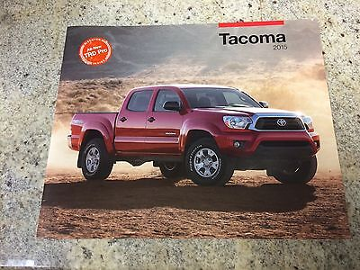 2015 Toyota Tacoma 28-page Original Dealer Brochure