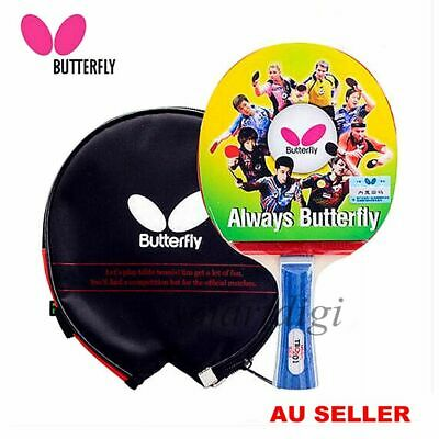 Butterfly TBC201 Table Tennis Ping Pong Racket Paddle Bat Blade FL NEW
