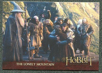2014 Cryptozoic The Hobbit An Unexpected Journey #98 The Lonely Mountain