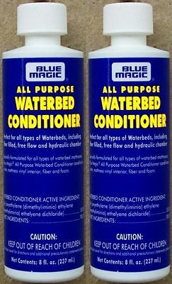 Waterbed Conditioner  Two 1 Year Blue Magic Water Bed Treatments