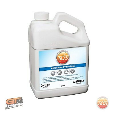 303 Aerospace Protectant Refill SPF40 3.79 Litres Leather Fibreglass Rubber NEW