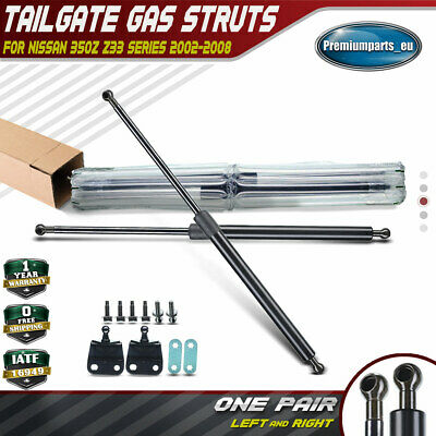 Set of 2 Tailgate Boot Gas Struts for Nissan 350Z 03-08 Z33 Hatch With Spoilers