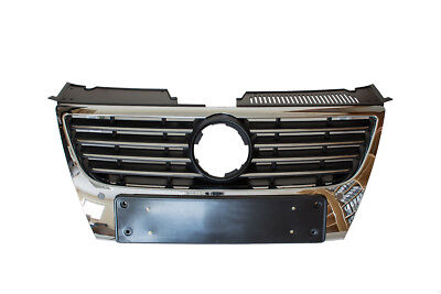 VW PASSAT B6 3C 3B6 05-10 GRILL GRILLE CHROME NEW HIGHLINE      540x125