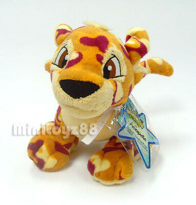 Neopets Series 5 Camoflauge Kougra Keyquest Unused Code Plush Toy