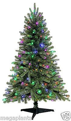 Color Switch Plus 4.5 ft SONOMA SPRUCE Multi to Clear LED Lights CHRISTMAS TREE