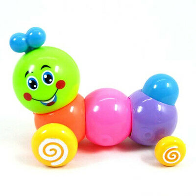 Colorful Caterpillars Baby Kids Inchworm Twist Forward Movement Clockwork Toy