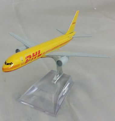 16cm DHL 757 Boeing Courier Freight Parcel Airplane Metal Diecast Aircraft Plane