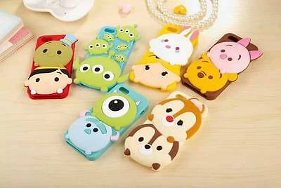 3D Cute Disney Cartoon Fairy Tales Silicone Soft Case For iPhone 5/5S/6/6 Plus