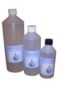 Pure Distilled Water For Various Applications