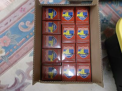 """Fabulous New  """"interstate Semis"""" Card Game   Case Lot"""