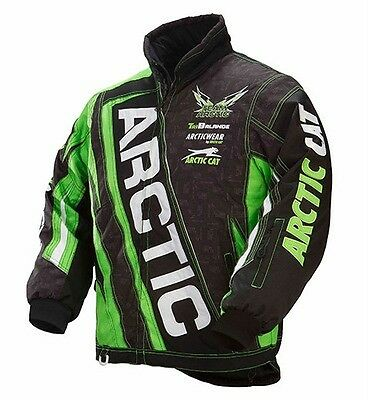 Arctic Cat 2015 Woman's Team Arctic Snowmobile Jacket Lime - Large 5250-464