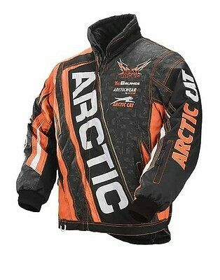 Arctic Cat 2015 Team Arctic Jacket Orange- Youth size C8, Part # 5250-662