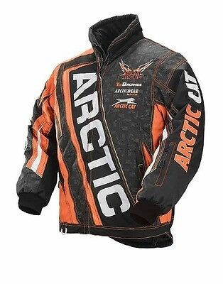 Arctic Cat 2015 Team Arctic Jacket Orange- Youth size C12, Part # 5250-664